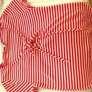 Striped Red Shirt